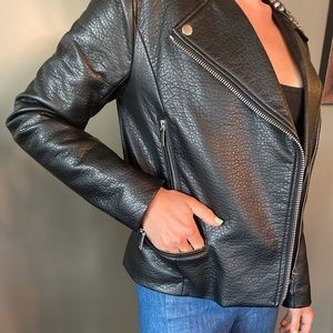 Michael Kors Studded Leather Jacket